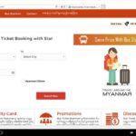 ミャンマー旅行に必須!バス・鉄道の検索予約サイトを紹介