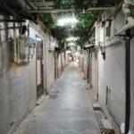 甲府1)観光ガイドに掲載NG!裏路地の迷宮をさまよう